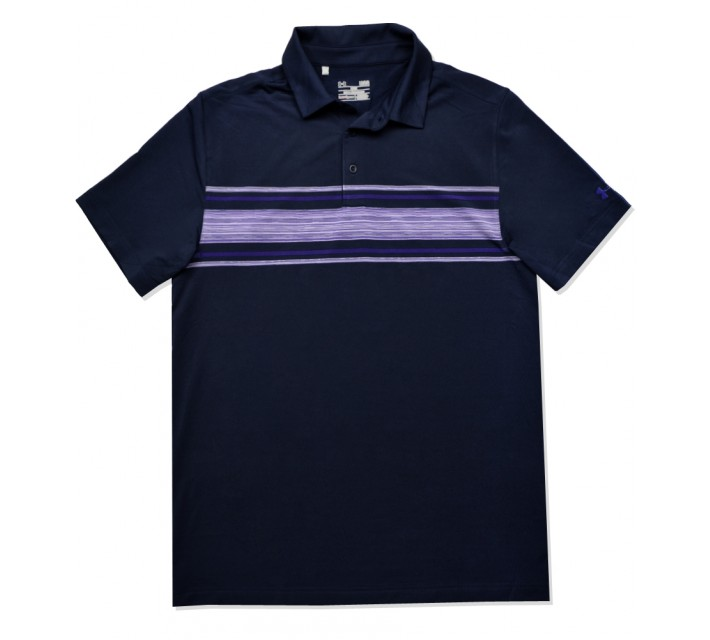 UNDER ARMOUR BLADES SPACE DYE POLO ACADEMY - SS16