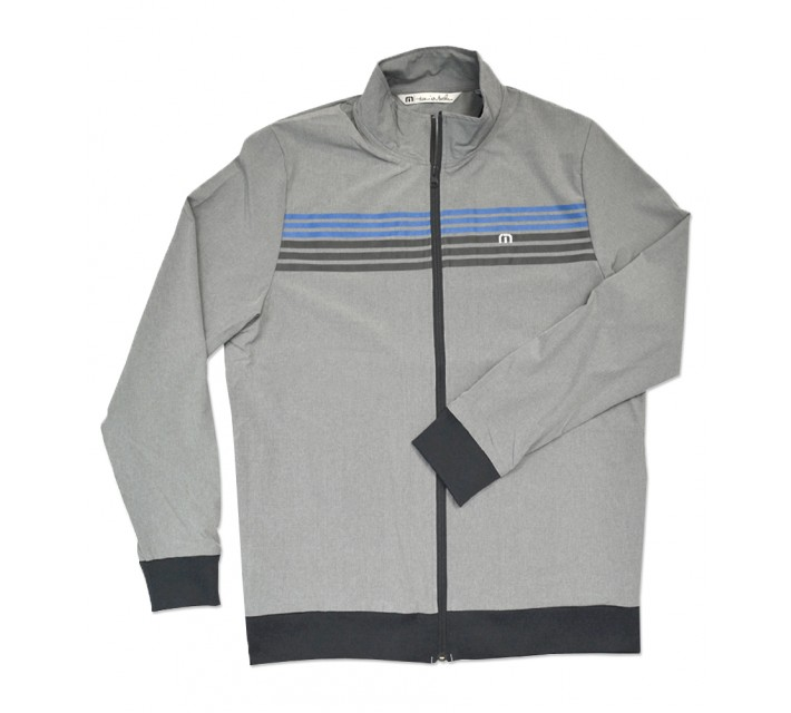 TRAVISMATHEW BOBBY SMITH JACKET HEATHER GRIFFIN - SS16