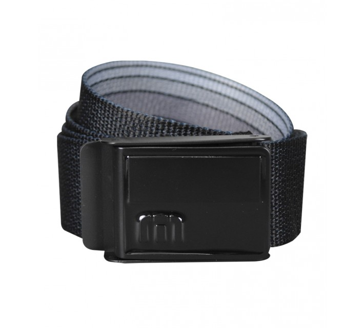 TRAVISMATHEW NUKE REVERSIBLE BELT BLACK - SS15