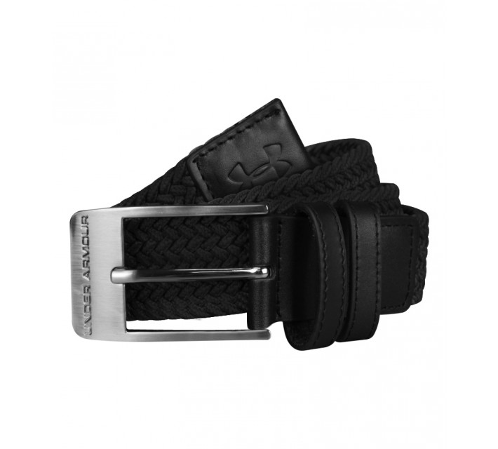 UNDER ARMOUR CASUAL WOVEN BELT BLACK - AW16