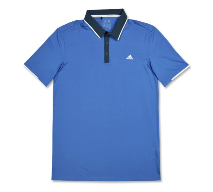 ADIDAS CLIMACOOL BRANDED PERFORMANCE POLO RAY BLUE - AW16