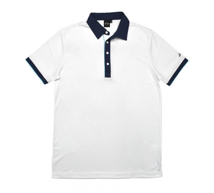 SLIGO BRAZEN GOLF POLO WHITE - SS16