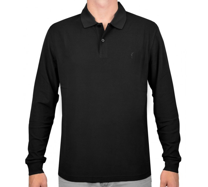 GOLFINO BRUSHED EXTRA DRY L/S POLO FLANNEL - AW15