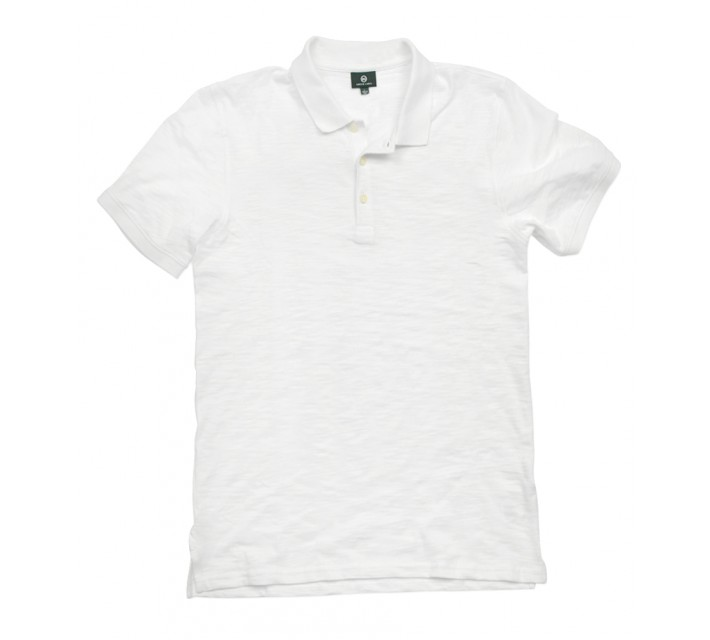 AG GREEN LABEL THE BRYANT POLO BRIGHT WHITE - SS16