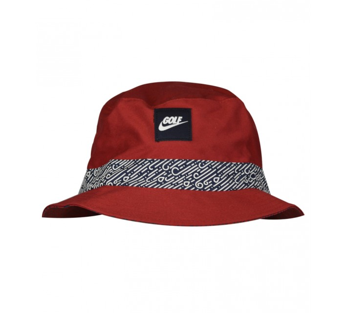 NIKE GOLF O BUCKET CAP GYM RED - AW15 CLOSEOUT