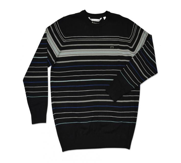 TRAVISMATHEW BULKHEAD SWEATER BLACK - SS16