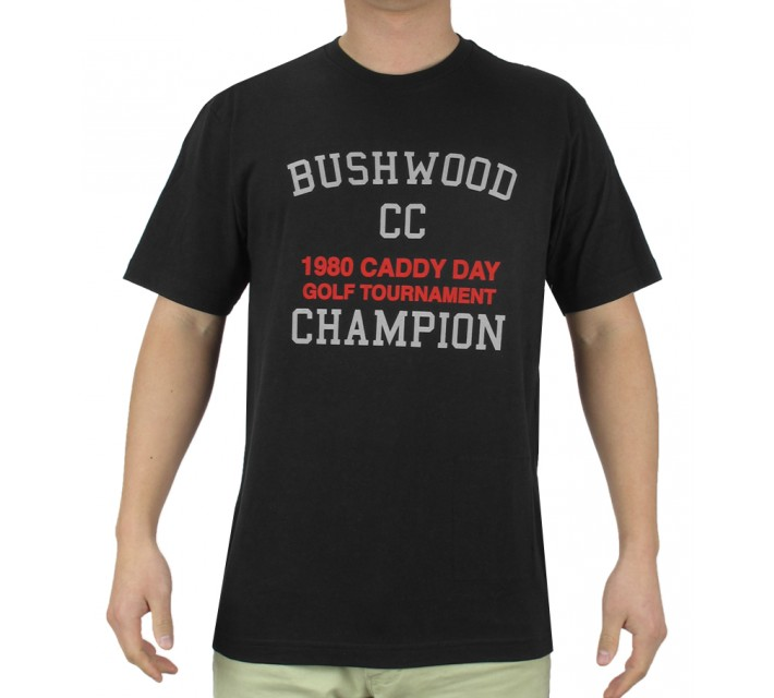 TRAVISMATHEW T-SHIRT BUSHWOOD BLACK - AW15