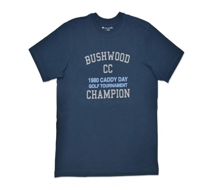 TRAVISMATHEW BUSHWOOD T-SHIRT DARK BLUE/GREY - SS16