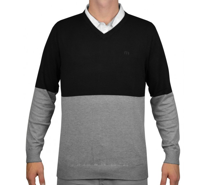 TRAVISMATHEW BUSTER SWEATER BLACK - AW15
