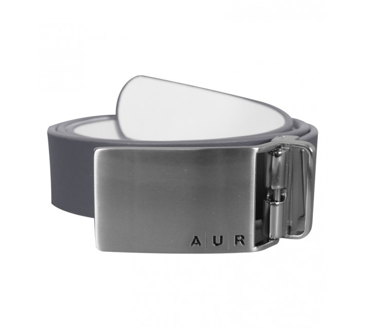 AUR REVERSIBLE PLAQUE BUCKLE BELT INDUSTRY/WHITE - AW15