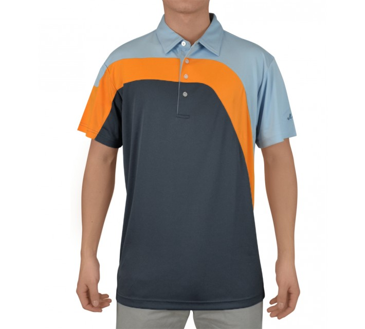 SLIGO CARTER GOLF POLO DEEP TEAL - SS15