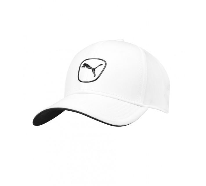 PUMA CAT PATCH 2.0 ADJUSTABLE CAP WHITE/BLACK - AW16