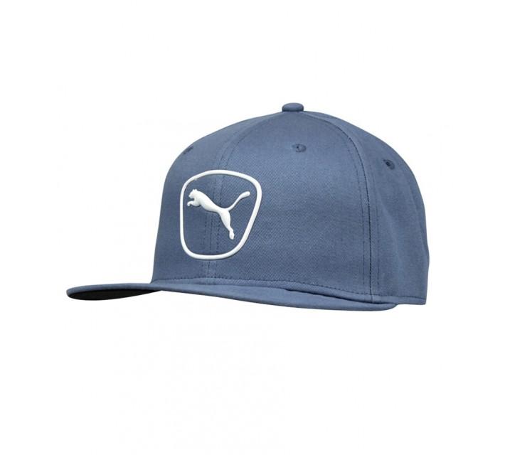 PUMA CAT PATCH 2.0 SNAPBACK CAP BLUE HEAVEN/WHITE - SS16