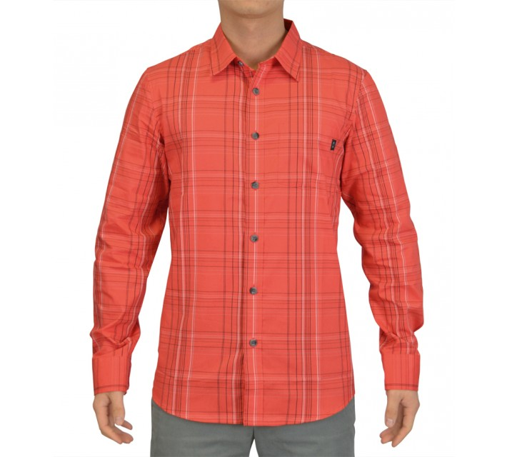 OAKLEY CAVE WOVEN SHIRT GRENADINE - SS15