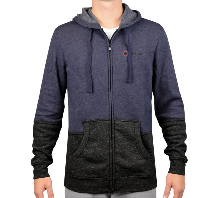 TRAVISMATHEW RED CHAPIN HOODIE HEATHER VINTAGE INDIGO - AW15