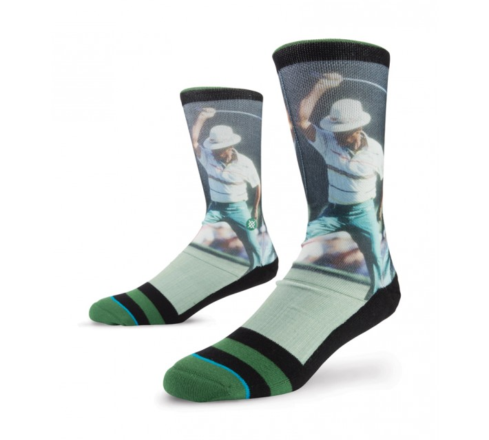 STANCE GOLF SOCKS CHI CHI  BLACK - SS16