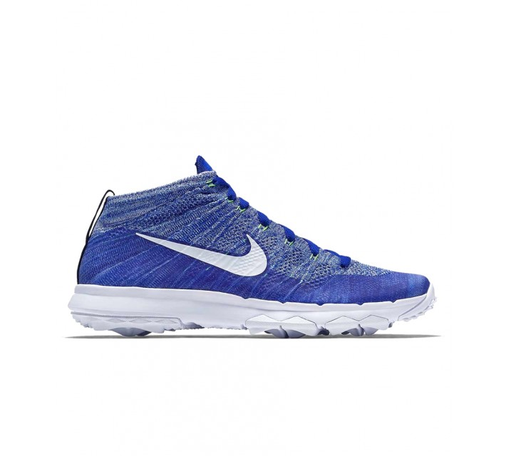 NIKE FLY KNIT GOLF CHUKKA RACER BLUE - SS16 CLOSEOUT