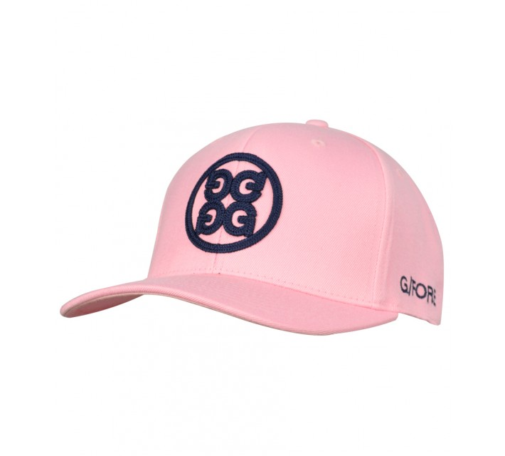 G/FORE CIRCLE G'S 6 PANEL SNAP BACK HAT BLUSH - AW16