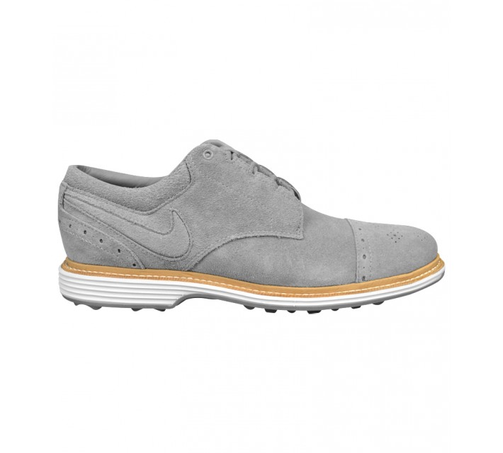 NIKE LUNAR CLAYTON GOLF SHOE WOLF GREY - AW15 CLOSEOUT