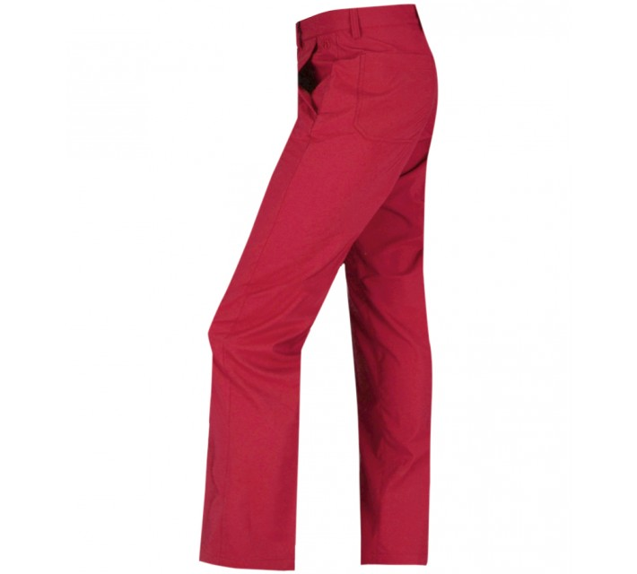 ABACUS CLEEK GOLF TROUSERS RED - AW16