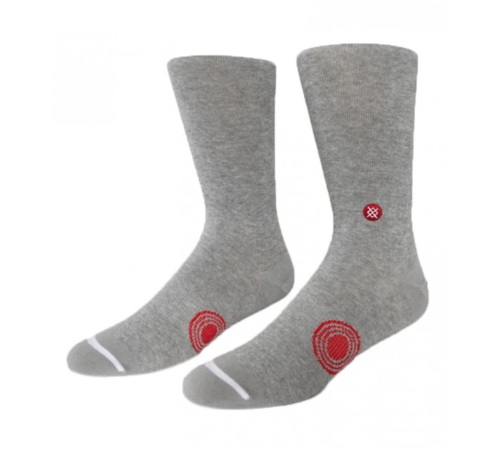 TRAVISMATHEW CLUB 15 SOCKS HEATHER MICROCHIP - AW15