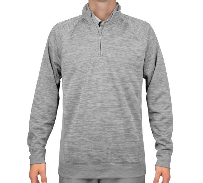 UNDER ARMOUR CLUB FLEECE PULLOVER STEEL - SS16