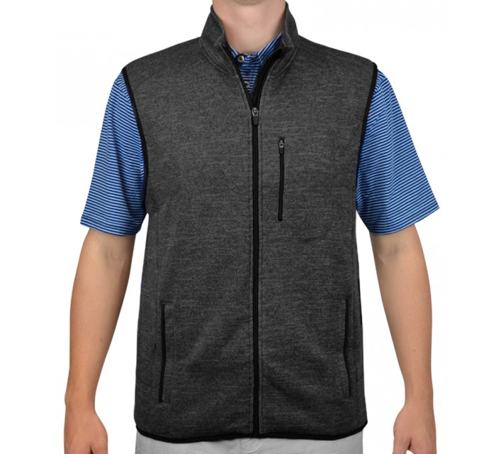 JOHNNIE-O COASTAL VEST PAVEMENT - AW15