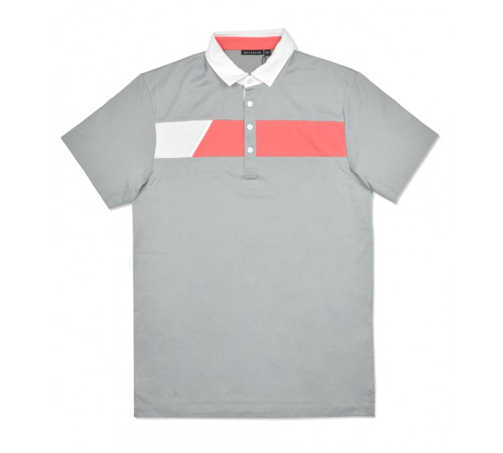 DEVEREUX COLE POLO STEEL - SS16