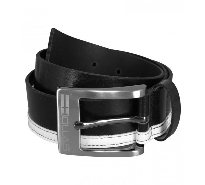 HOLLAS CONTRAST BELT BLACK/WHITE - SS15