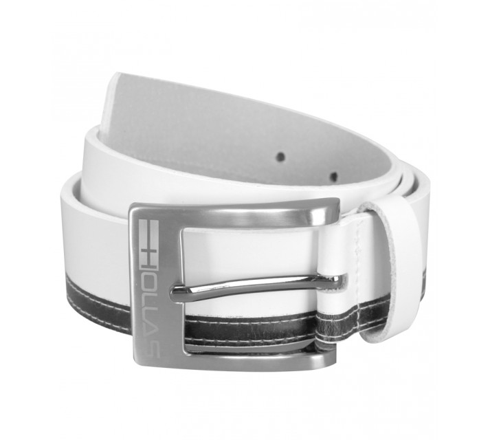 HOLLAS CONTRAST BELT WHITE/BLACK - SS15