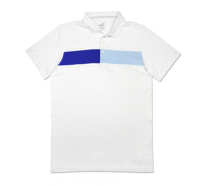 PUMA COOL TOUCH POLO BRIGHT WHITE - SS16