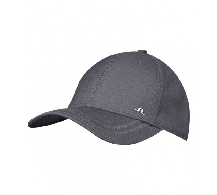 J. LINDEBERG WILL COMBED COTTON CAP DK GREY - AW15