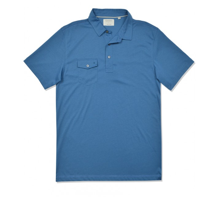 LINKSOUL INNOSOFT COTTON JERSEY POLO TEAL - SS16