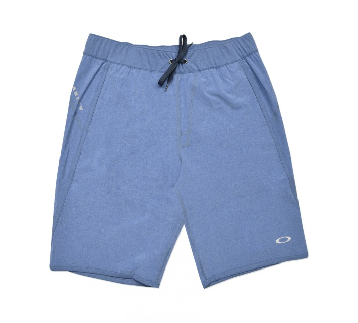 OAKLEY CRATER SHORT DELFT LIGHT HEATHER - SS16