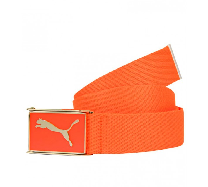 PUMA YOUTH BOYS CUADRADO WEB BELT VIBRANT ORANGE - AW15