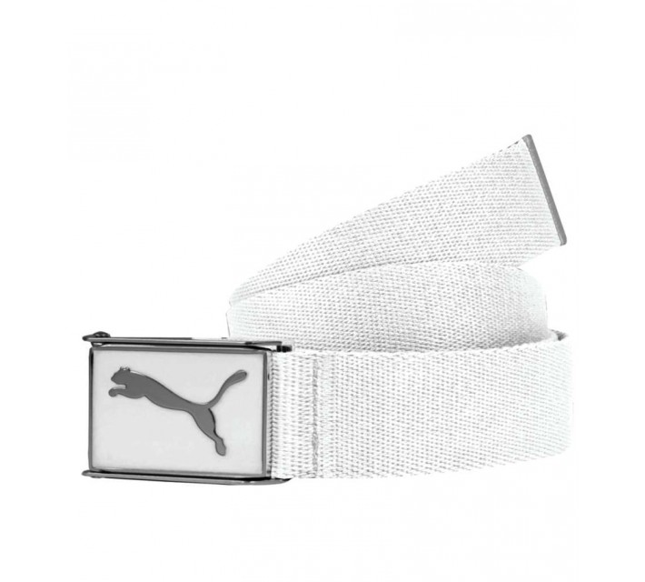 PUMA YOUTH BOYS CUADRADO WEB BELT WHITE - AW15