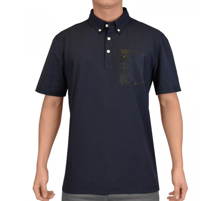 AG GREEN LABEL THE CUP POLO NAVAL BLUE - SS15