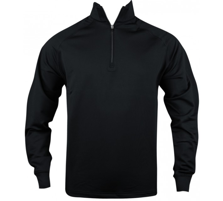 DUNNING STRETCH THERMAL 1/4 ZIP BLACK - AW16