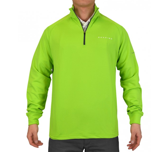 DUNNING STRETCH THERMAL 1/4 ZIP PULLOVER SIGNAL - SS15
