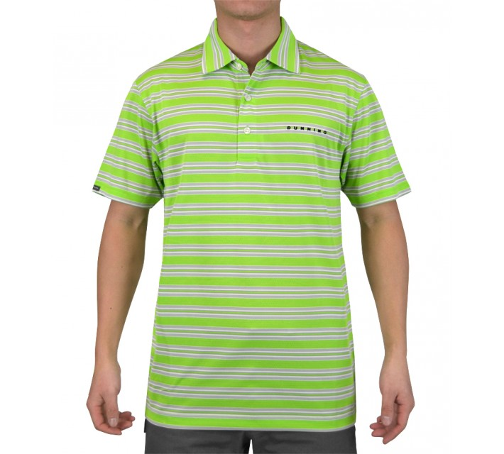 DUNNING FEEDER STRIPE JERSEY POLO SIGNAL COMBO - SS15