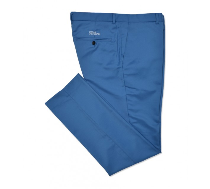OSCAR JACOBSON DAVE TOUR TECH TROUSERS LIGHT BLUE - SS16