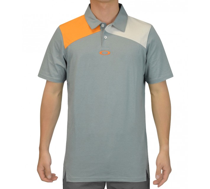 OAKLEY GOLF DAVIS POLO LEAD - SS15