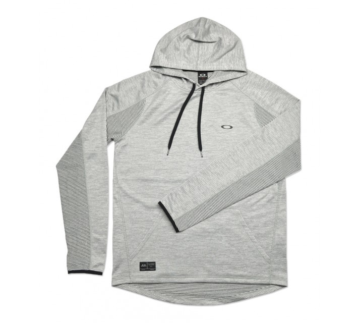 OAKLEY DAWN PATROL FLEECE PULLOVER ATHLETIC HEATHER GREY - SS16