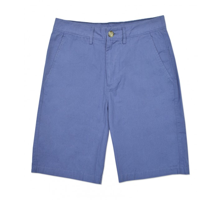 JOHNNIE-O DERBY COTTON SHORT SILVER LAKE - SS16