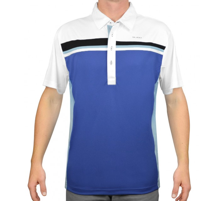 SLIGO GOLF SHIRT DEZ SONIC BLUE - AW15