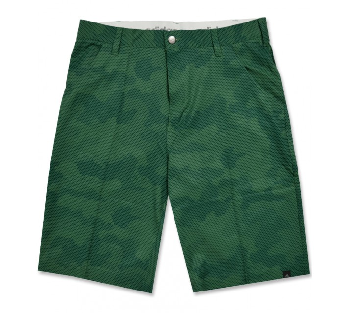 ADIDAS ULTIMATE CAMO PRINT SHORT TECH FOREST/UTILITY GREEN - AW16