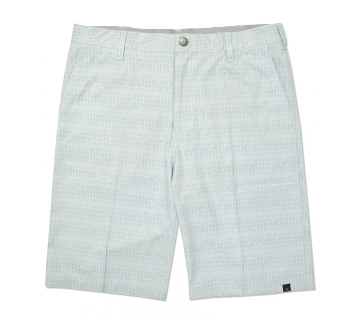 ADIDAS ULTIMATE DOT PLAID SHORT CLEAR GREY/SHOCK GREEN - SS16