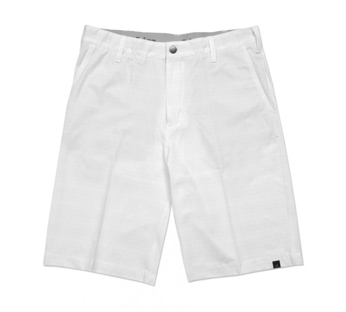 ADIDAS ULTIMATE DOT PLAID SHORT WHITE/STONE - SS16