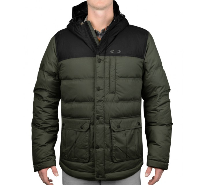OAKLEY DRIFTER DOWN JACKET SHADOW - AW15