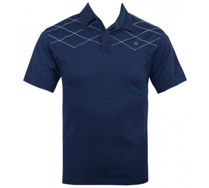 TRAVISMATHEW JUNIOR BOYS J-DROP GOLF SHIRT NAVY - SS15